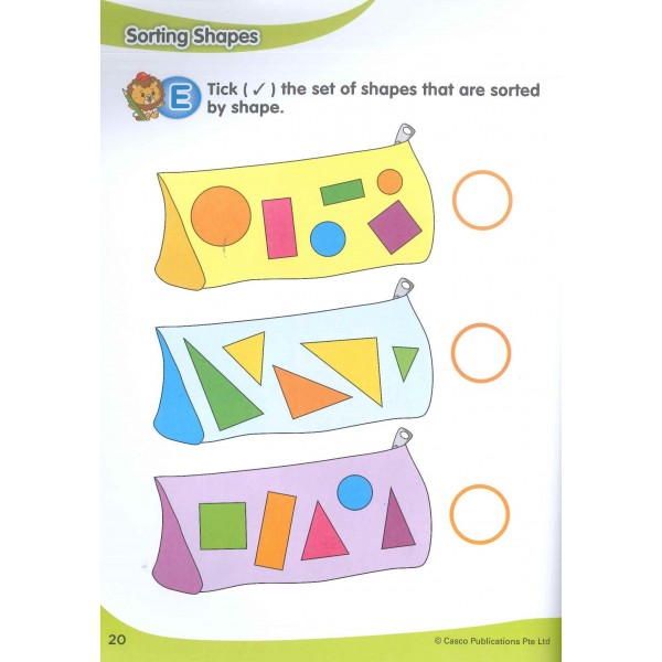 Tutor Early Skills Series Book 2: Shapes and Patterns