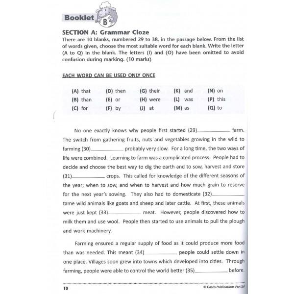 P5 English 10 Class Tests