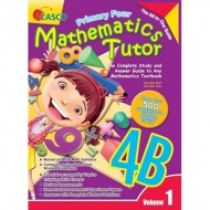 Primary Maths Tutor 4B Vol.1