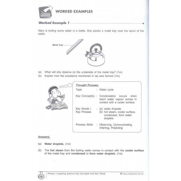 P.5 Science Applying Key Concepts & Key Words