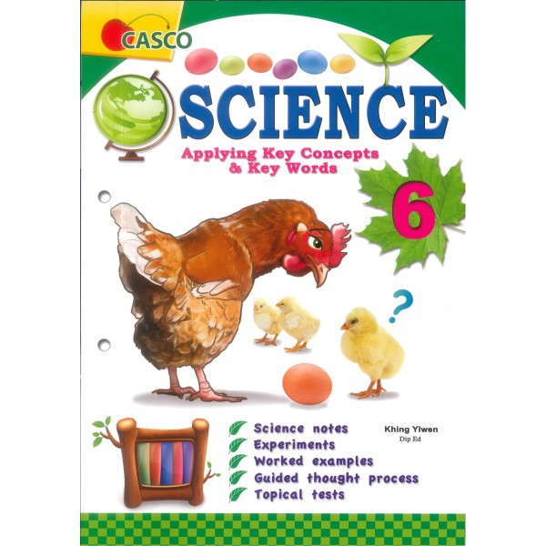 P.6 Science Applying Key Concepts & Key Words