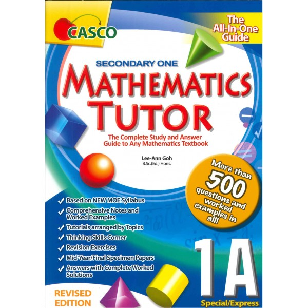 Sec Mathematics Tutor 1A