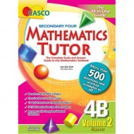Sec Mathematics Tutor 4B Vol.2