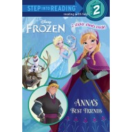 Frozen:Anna's Best Friends (Step into Reading Level 2)