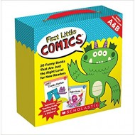 First Little Comics Parent Pack: Levels A & B: 20 Funny Books