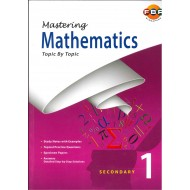 Mastering Mathematics Topical Sec 1