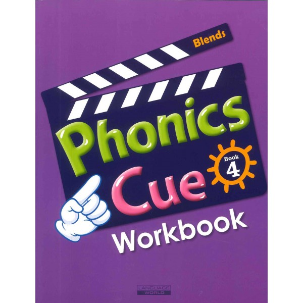 Phonics Cue 4 (Paperback+CD)-Student Book+Workbook+Activity Book+Hybrid CDs