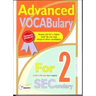 Advanced Vocabulary For Secondary 2