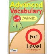 Advanved Vocabulary for O-Level