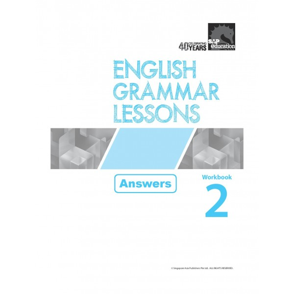 English Grammar Lessons Workbook 2