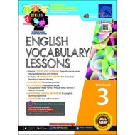 English Vocabulary Lessons Workbook 3