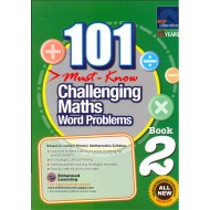 101 Must-Know Challenging Maths Word Problems Book 2