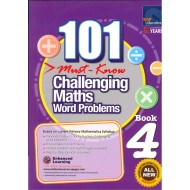101 Must-Know Challenging Maths Word Problems Book 4