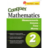 Conquer Mathematics Book 2 :Measurements, Volume, Time, Money