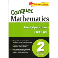 Conquer Mathematics Book 2 :The 4 Operations, Fraction