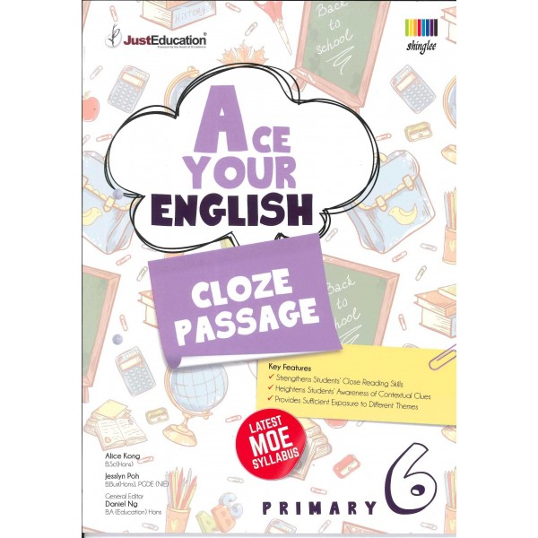 Ace Your English (Cloze Passage) P 6